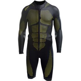 Colting Wetsuits Swimrun SR03 Traje Triatlón Hombre, black